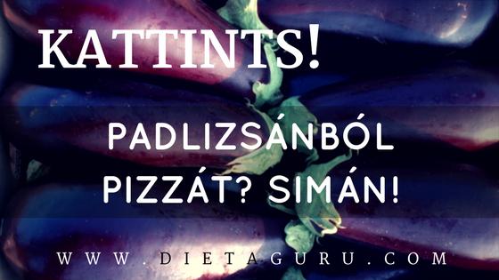 padlizsánból pizzát-