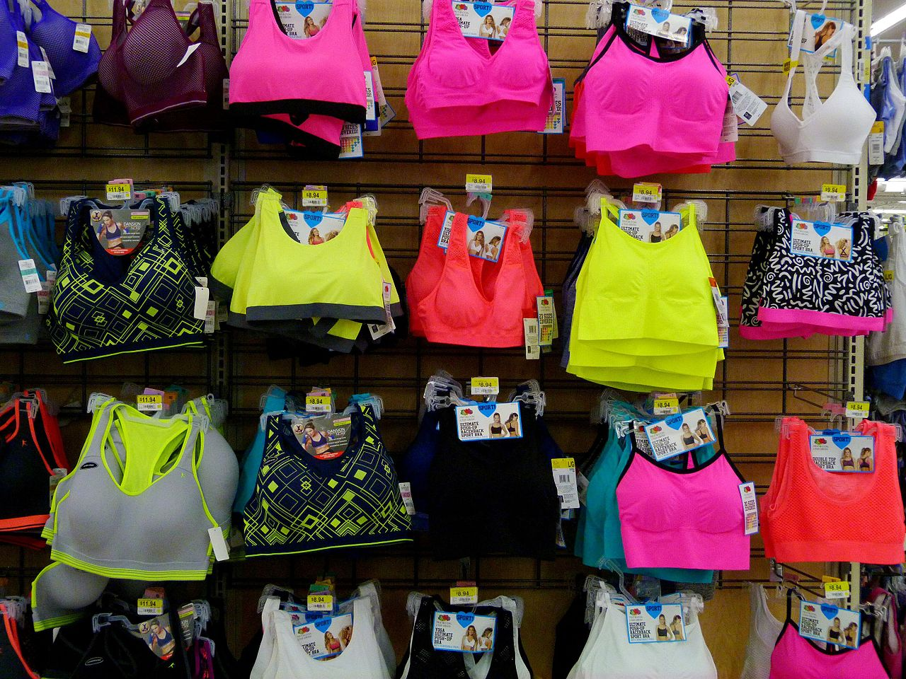 Colorful_sports_bras_in_Walmart.jpg