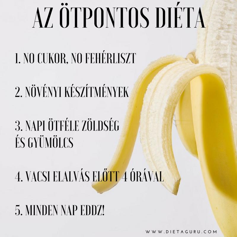 az 5pontos diéta